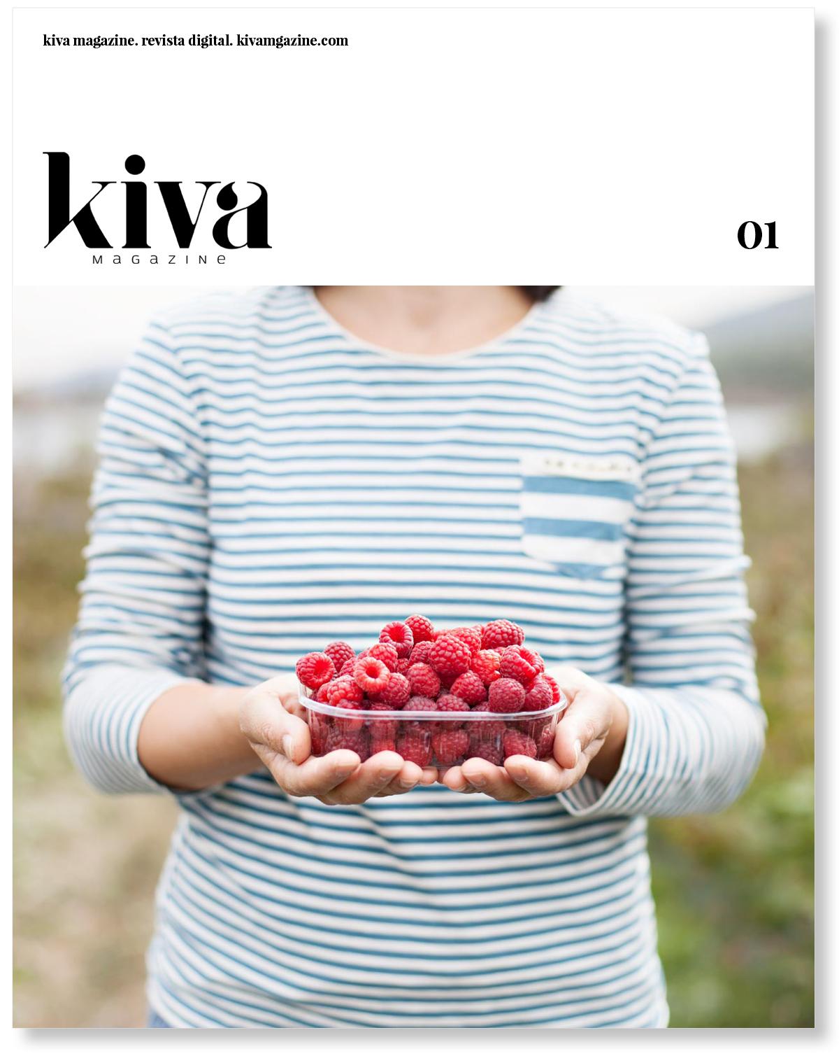 Primer número Kiva magazine, portada