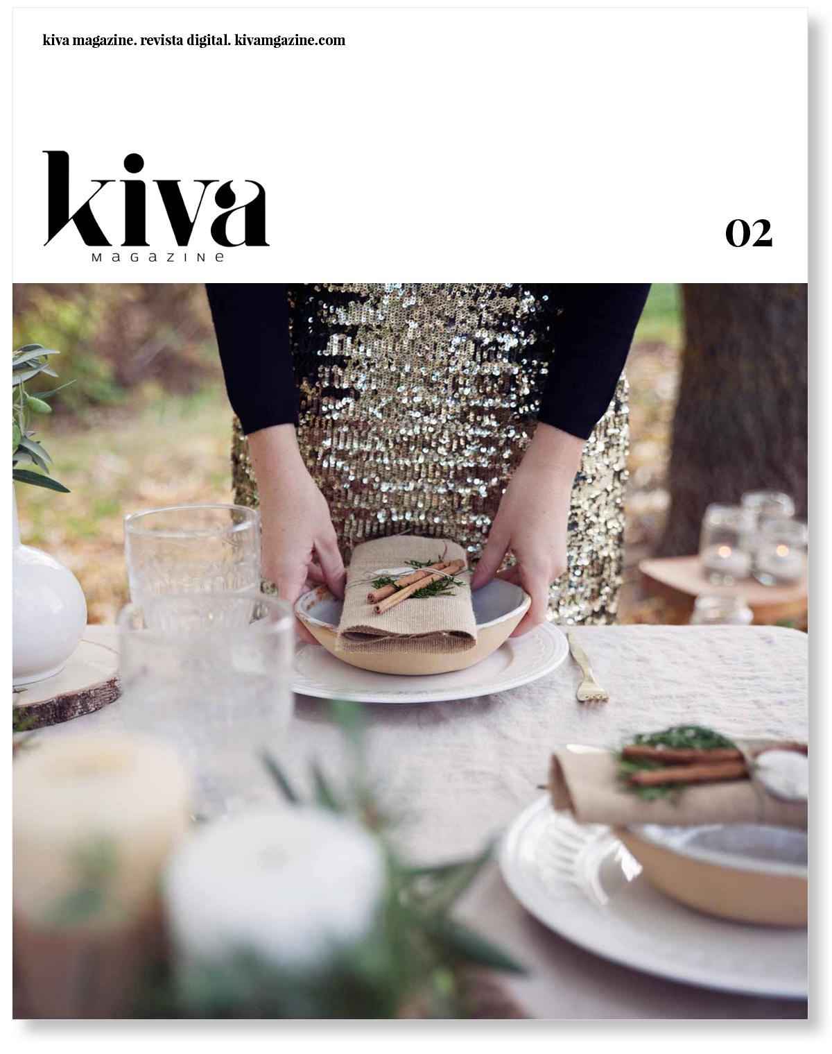 Segundo número Kiva magazine, portada