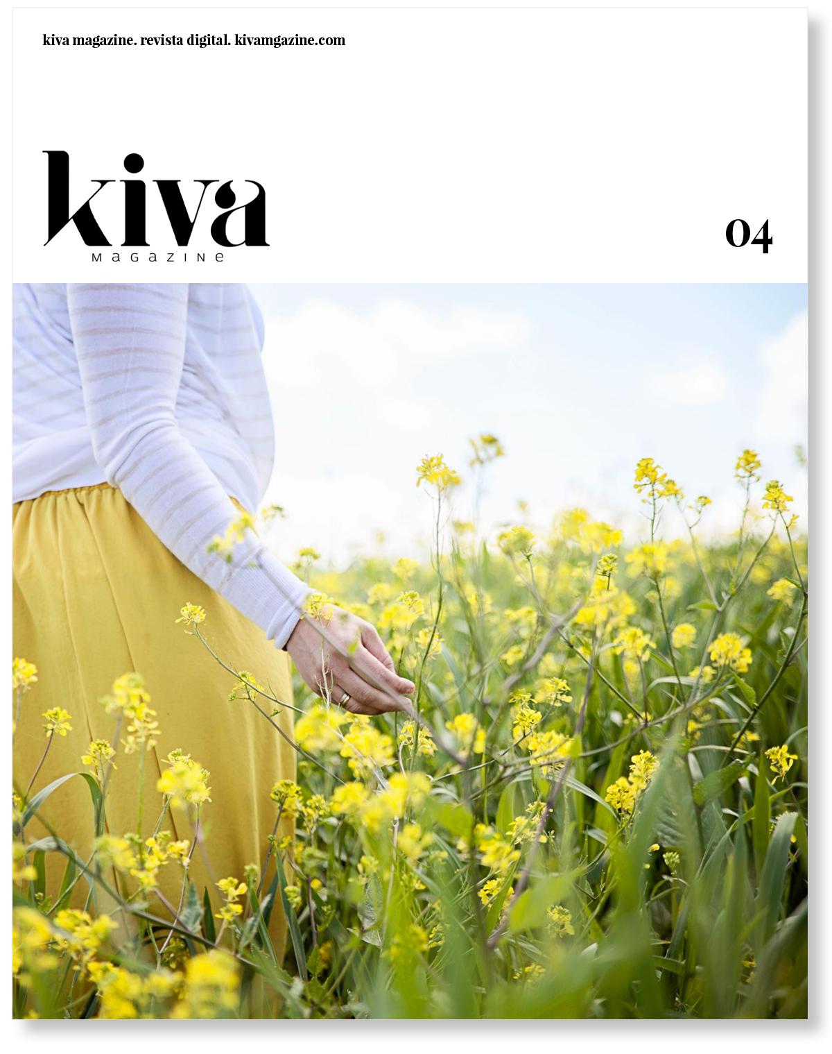 Cuarto número Kiva magazine, portada