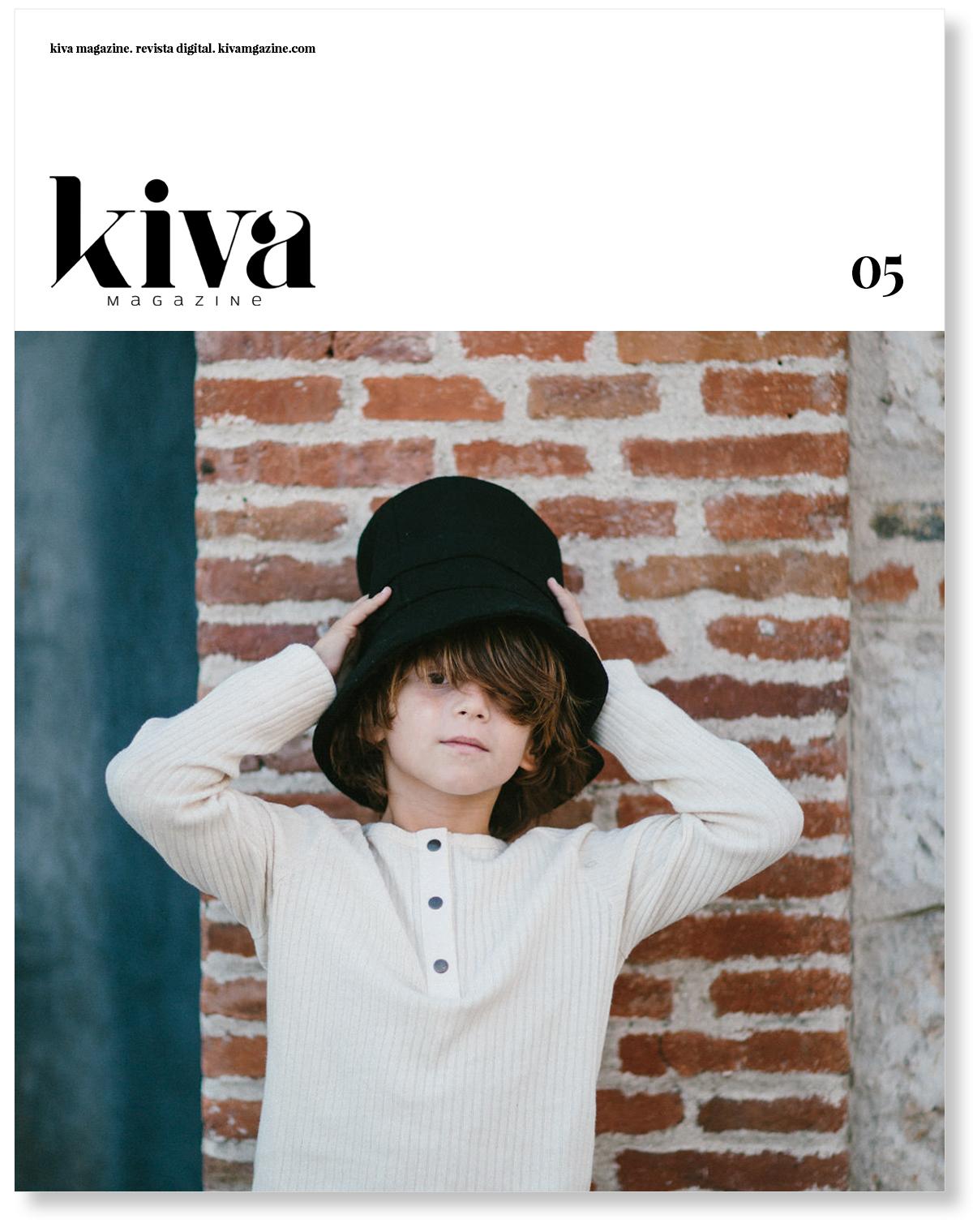 Quinto número Kiva magazine, portada