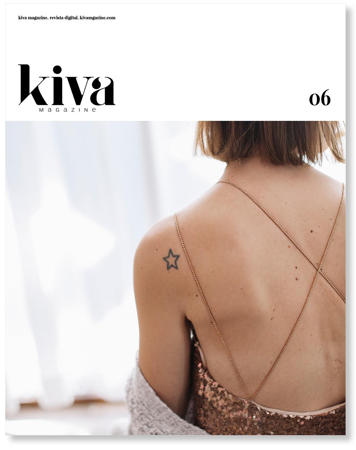 Número seis Kiva magazine, portada